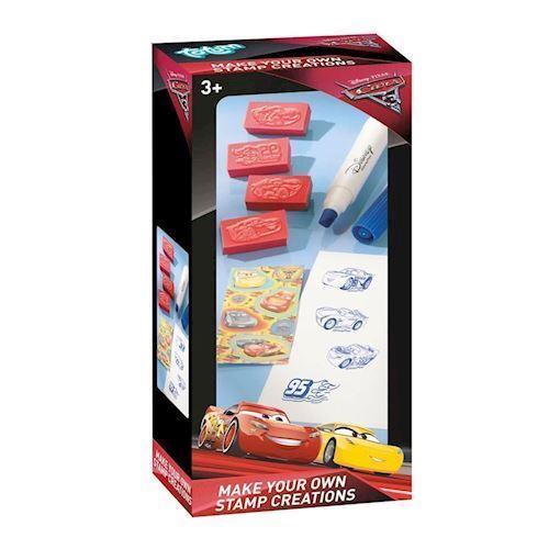 Image of   Totum Cars 3, stempelsæt