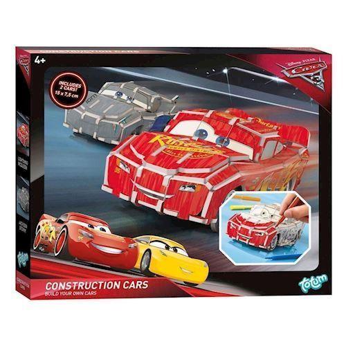 Image of   Totum, Cars 3 3D byggesæt, lynet McQueen og Storm