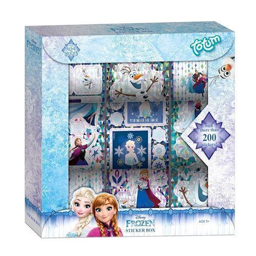 Image of   Totum Disney Frozen, klistermærker, 9 ruller