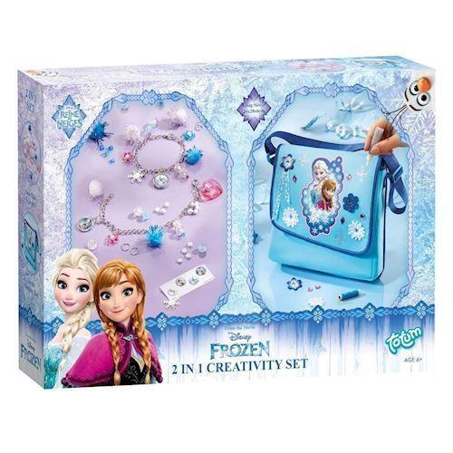 Totum, Disney Frozen, kreativitetssæt  2 i 1