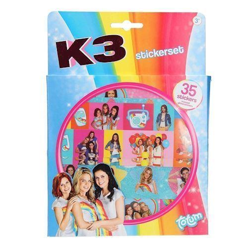 K3 klistermærker