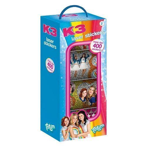 Totum K3 klistermærkeruller, 4 stk