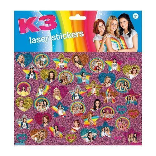 Totum K3 Laser klistermærker