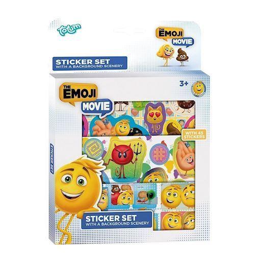Totum Emoji klistermærker