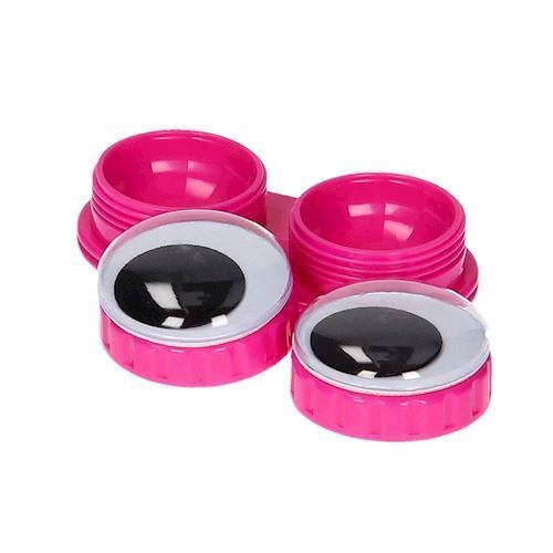Image of Goolge Eyes, holder til kontaktlinser, pink (8714302562105)
