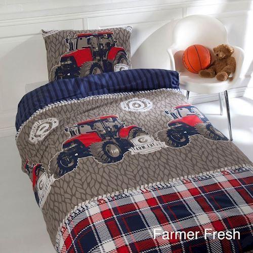 Image of Duvet Cover Tractors John (8714305057806)
