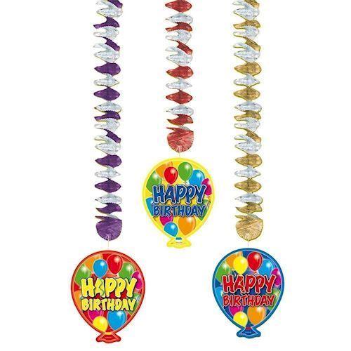 Image of Hang Decoration Happy Birthday
