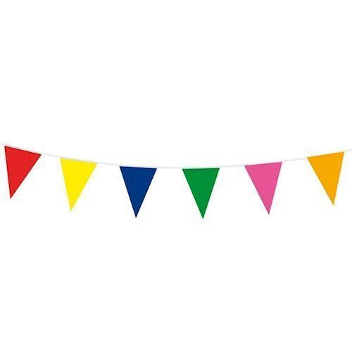 Image of Farvet flagline, banner, 10 meter