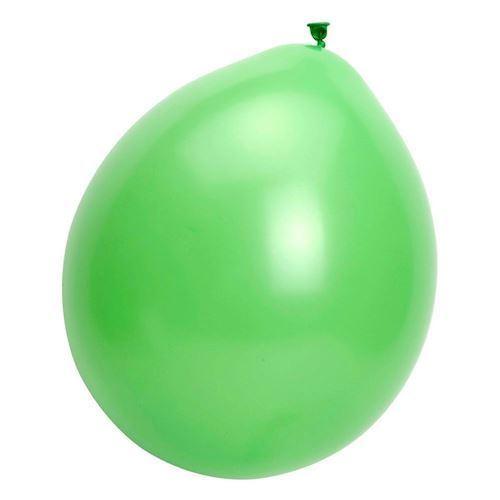 Balloner, grøn, 10 stk