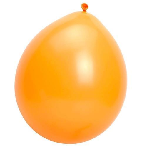 Image of   Balloner, orange, 10 stk