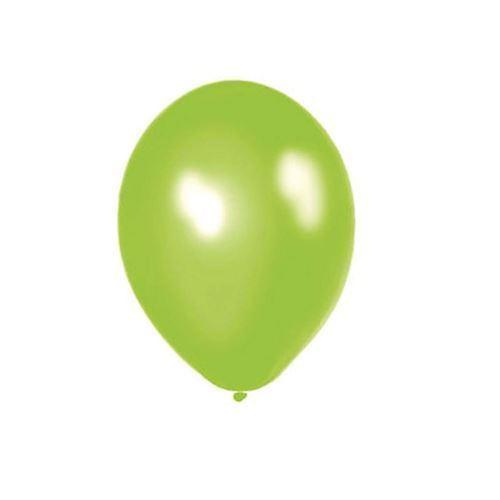 Image of   Balloner, grøn, 10 stk