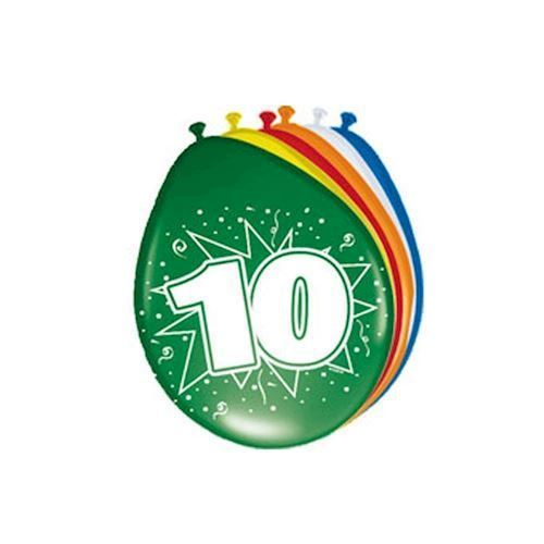 Image of   Balloons 10 years, 8pcs.