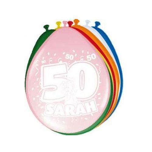 Billede af Balloons Sarah, 8pcs.