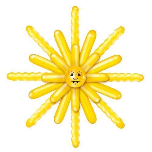 Image of Balloon Set Sun (8714572085700)