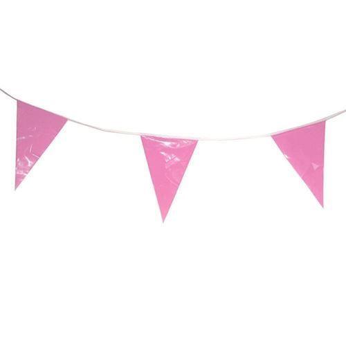 Image of Flagbanner Pink/Orange, 10mtr.