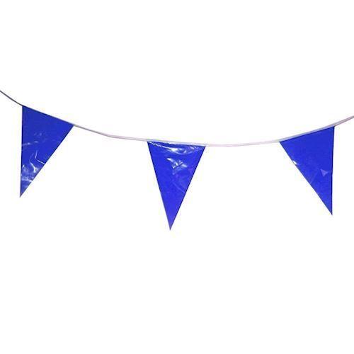 Image of Flagbanner, 10m blå
