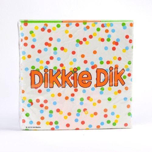 Image of   Dikkie Dik Servietter, 20 stk.
