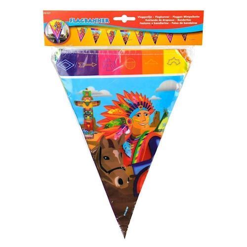 Image of Flagbanner, indianer, 10 m