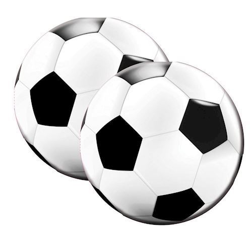 Image of   Servietter, fodbold, 20 stk