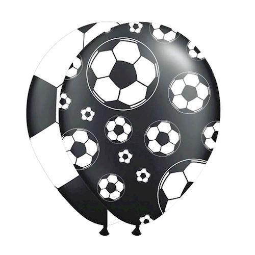 Image of   Balloner, fodbold. 8 stk
