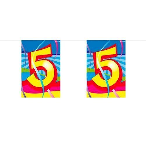 Image of Mini Banner, 5 år, 4 meter