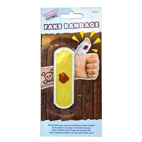 Image of   Jokes, Falsk bandage