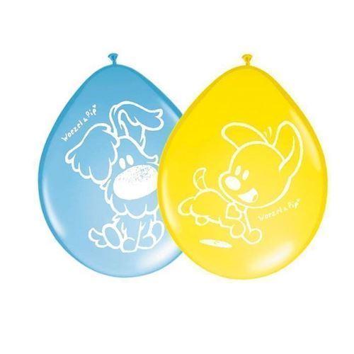 Woezel & Pip balloner, 8 stk