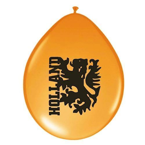 Orange Balloner løve, 100 stk