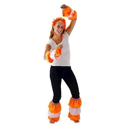 Image of   Arm og bensæt, orange