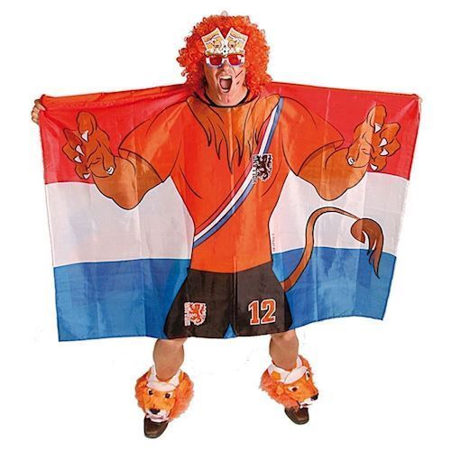 Image of   Holland flag kappe