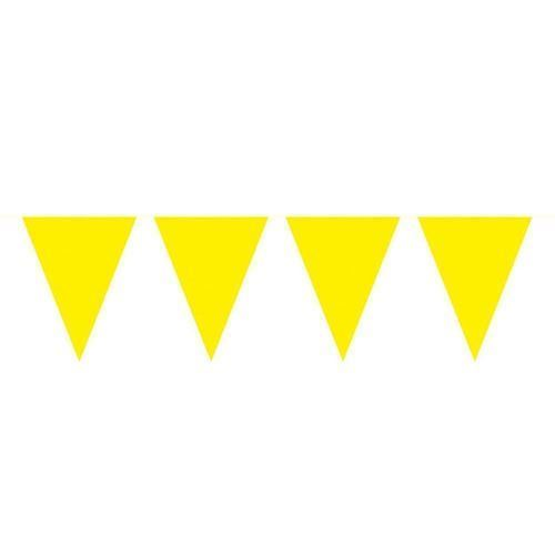 Image of Yellow Mini Flags line, 3mtr.