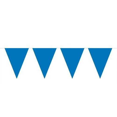 Image of Blue Mini Flags line, 3mtr.