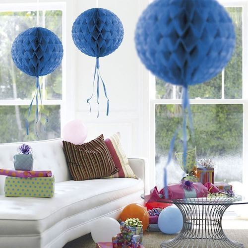 Image of Party Dekoration - Bikube bold - Blå