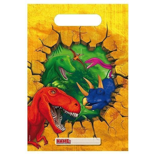 Image of Dinosaur slikposer, 6 stk