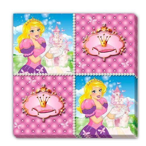 Image of   Prinsesse Servietter, 16 stk