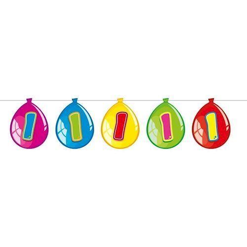 Image of   Ballon banner 1 år, 10 m