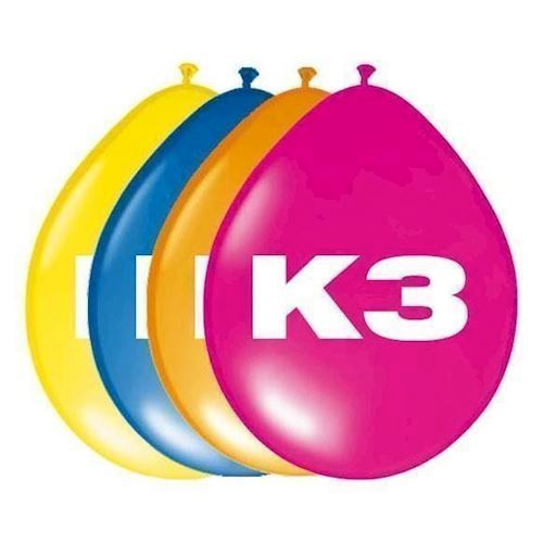 Image of K3 Balloner, 8 stk
