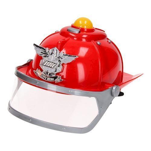 Image of Politi hjelm med lys og lyd (8714627149630)