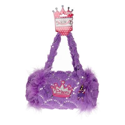 Image of   Prinsesse håndtaske, lyserød