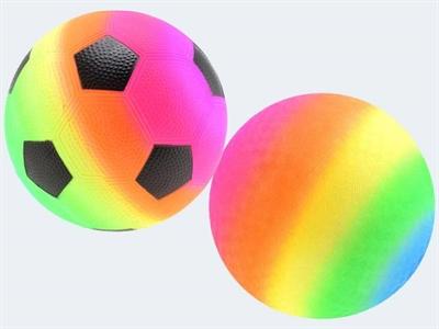 Image of   Fodbold, softball, regnbue, ass. modeller