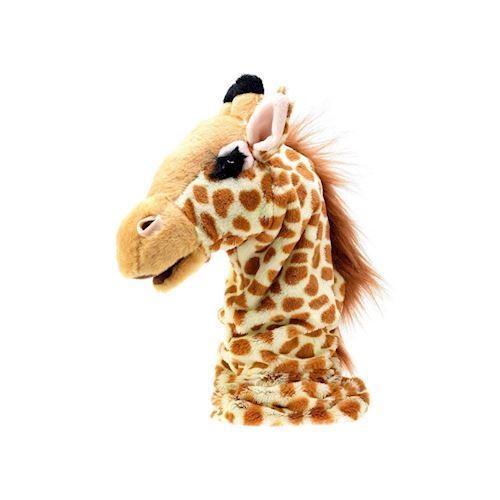 Image of   Hånddukke bamse, giraf, krokodille eller struds