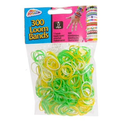 Image of   Loom Bands Multi Color, 300st.