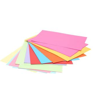 Image of   Farvet A4 papir, 50 sider