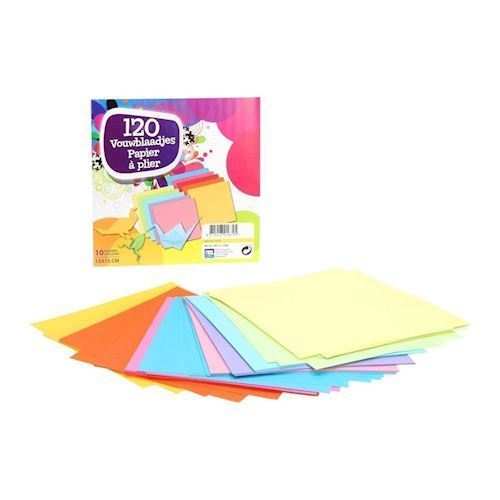 Image of   Folde papir / ark, 120 stk
