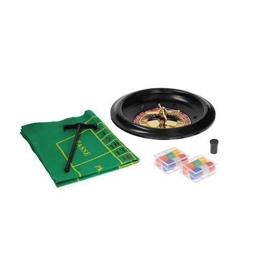Image of   Casino spil, Roulettesæt - legetøj