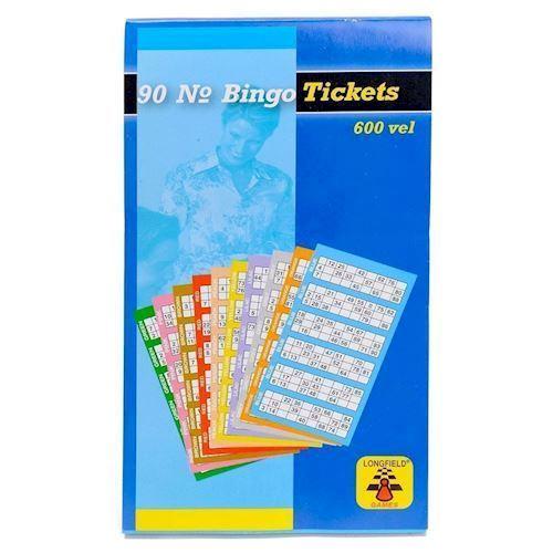 Image of Bingo plader 600 stk (8716096001969)