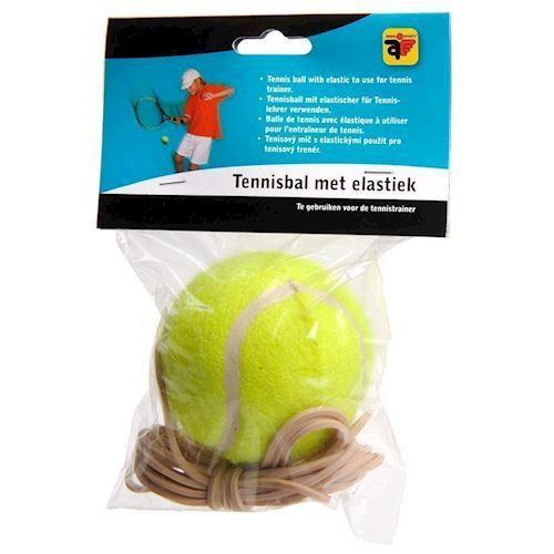 Image of   Tennisbold med elastik