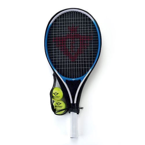 Image of   Tennisketcher med hylster & 2 tennisbolde, Blå