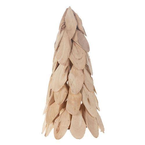 Image of   Juletræ lavet af træstykker