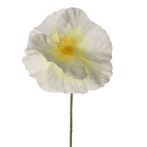 Image of Paper Flower - Poppy White